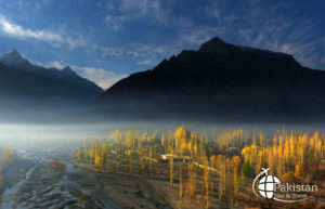 Frame of Winters in Skardu Valley, Gilgit Baltistan