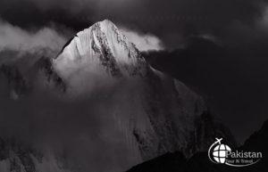 Interesting Shadows play in Peaks in Northern Pakistan