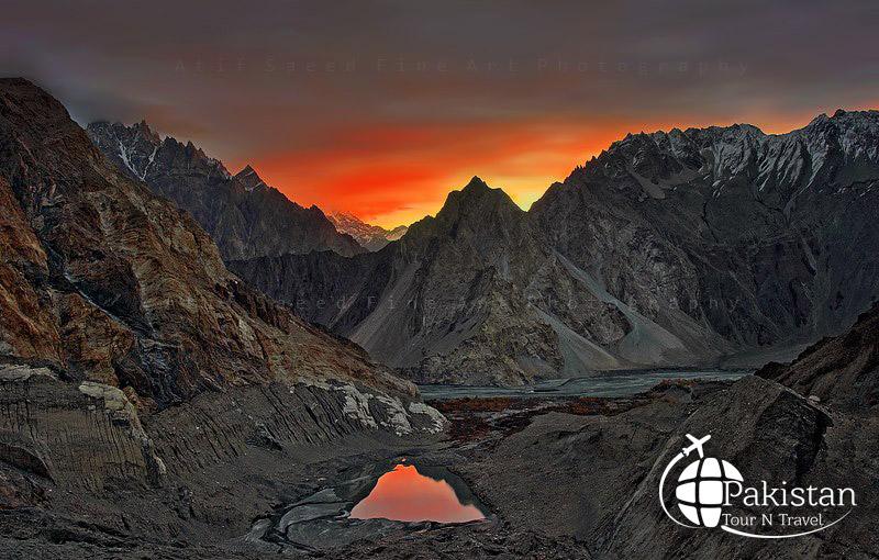 Peak of Northern areas of pakistan
