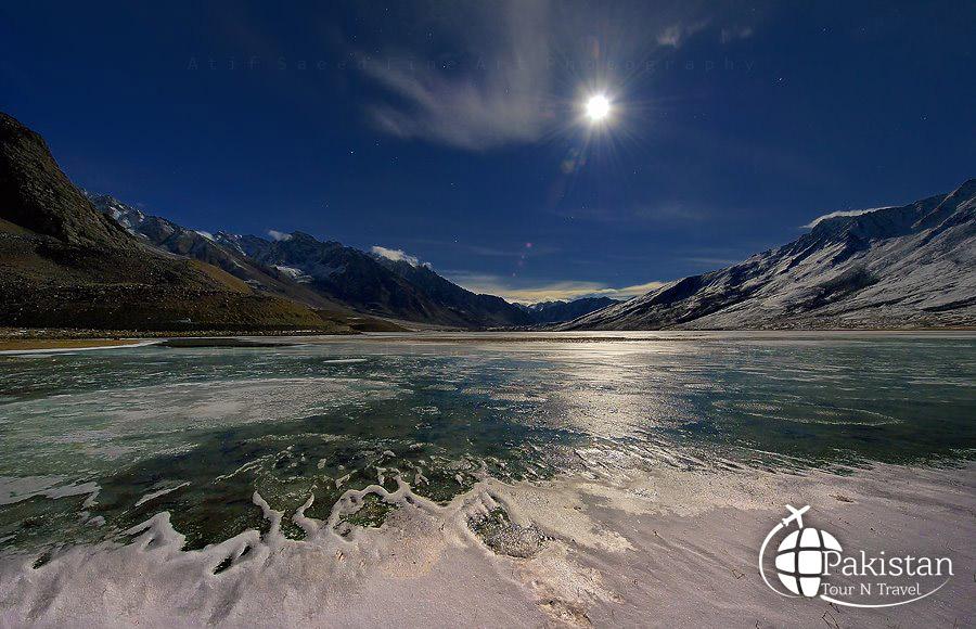 Frozen Deserts in Northern areas