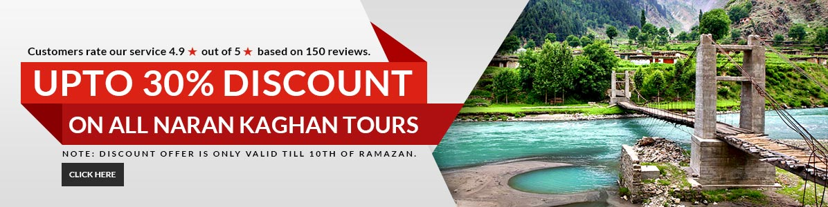 Naran Kaghan Tour Packages Promotion and Summer Offers