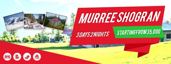 Muree Shogran Couple Tour (3Days/2Nights)