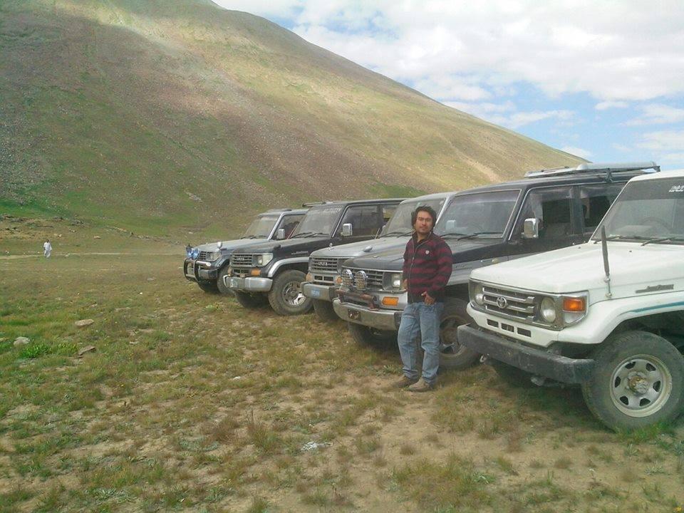 Jeeps Fleet for Jeep Tracks