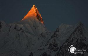Sunset Peaks near K2 Range