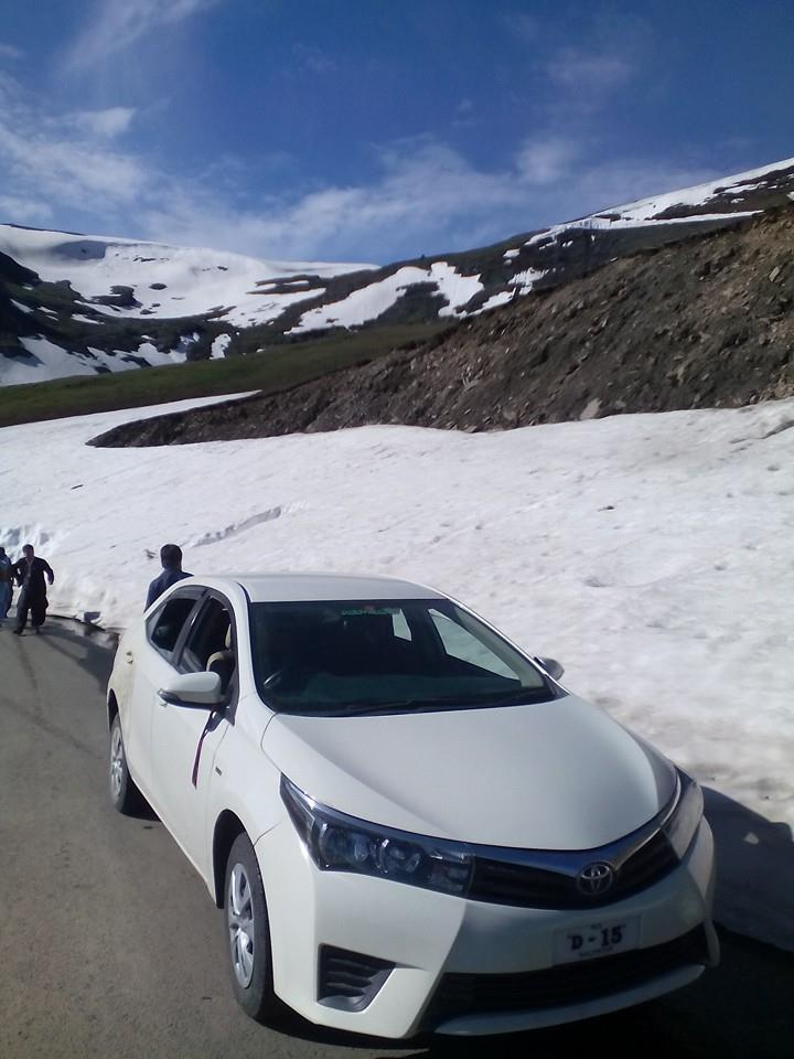 XLI Car 2015 at Babusar Top