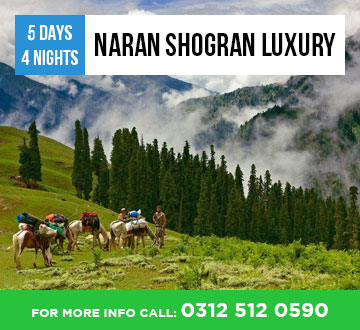 Naran Shogran 5Days 4Nights Tour Package