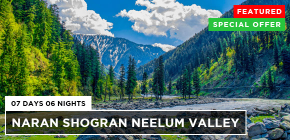 Naran Shogran Neelum Valley 07Days 06Nights Tour Featured Special Offer Plans