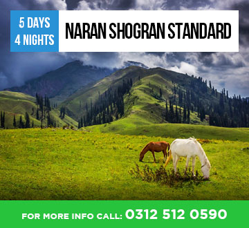 Naran Shogran Standard Tour Package