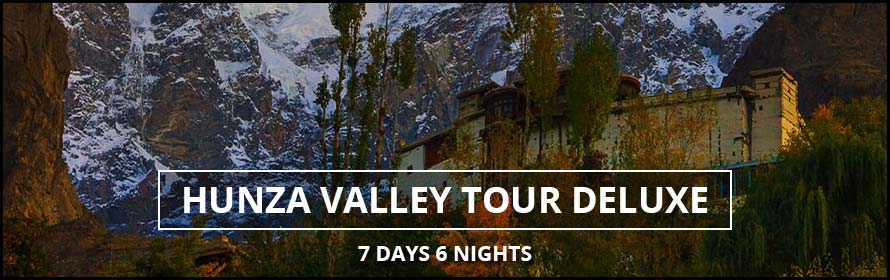 Hunza Naltar Deluxe Valley Tour 7Days 6Nights Package with Price