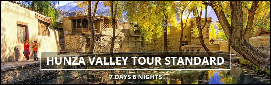 Hunza Valley Standard Tour 7Days 6nights Package along Prices