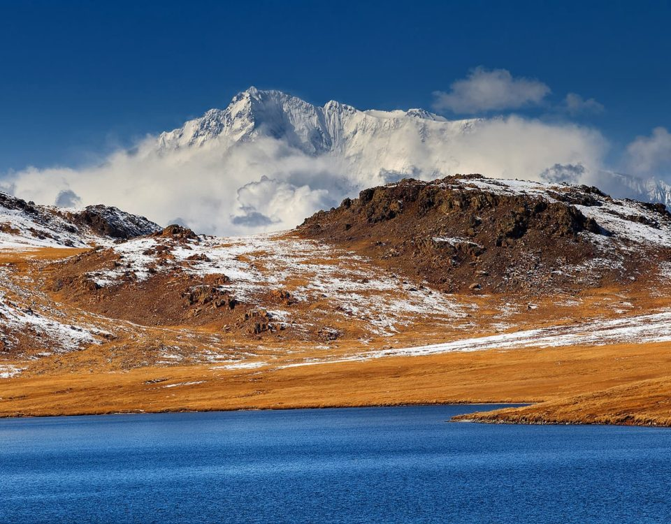 Nangaparbat from sheoshar lake