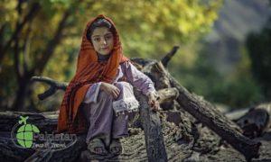 A child in Nagar