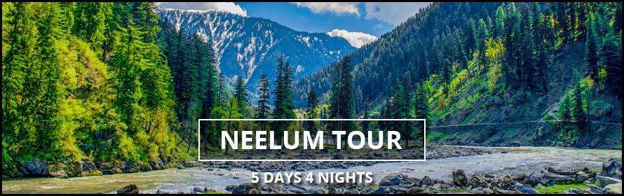 Neelum Valley Tours 5days 4nights prices