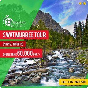 Swat-Valley-Murree-Tour-5Days-4Nights