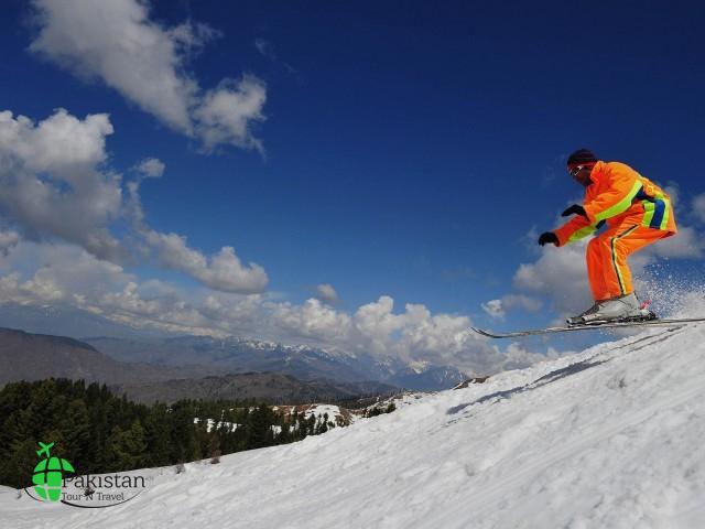 malam jabba skiing