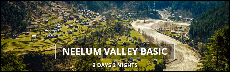 Neelum Valley Azad Kashmir 3Days 2nights with Package Price