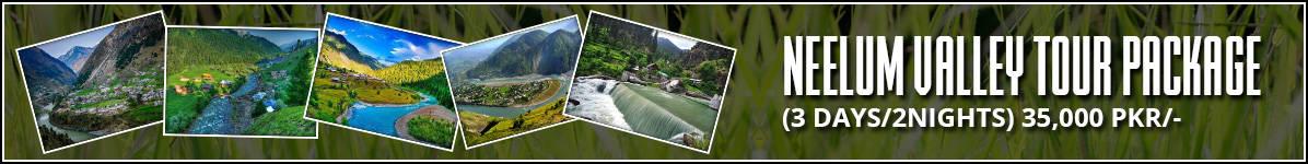 Neelum Valley Sightseeing 3Days 2Nights Tour