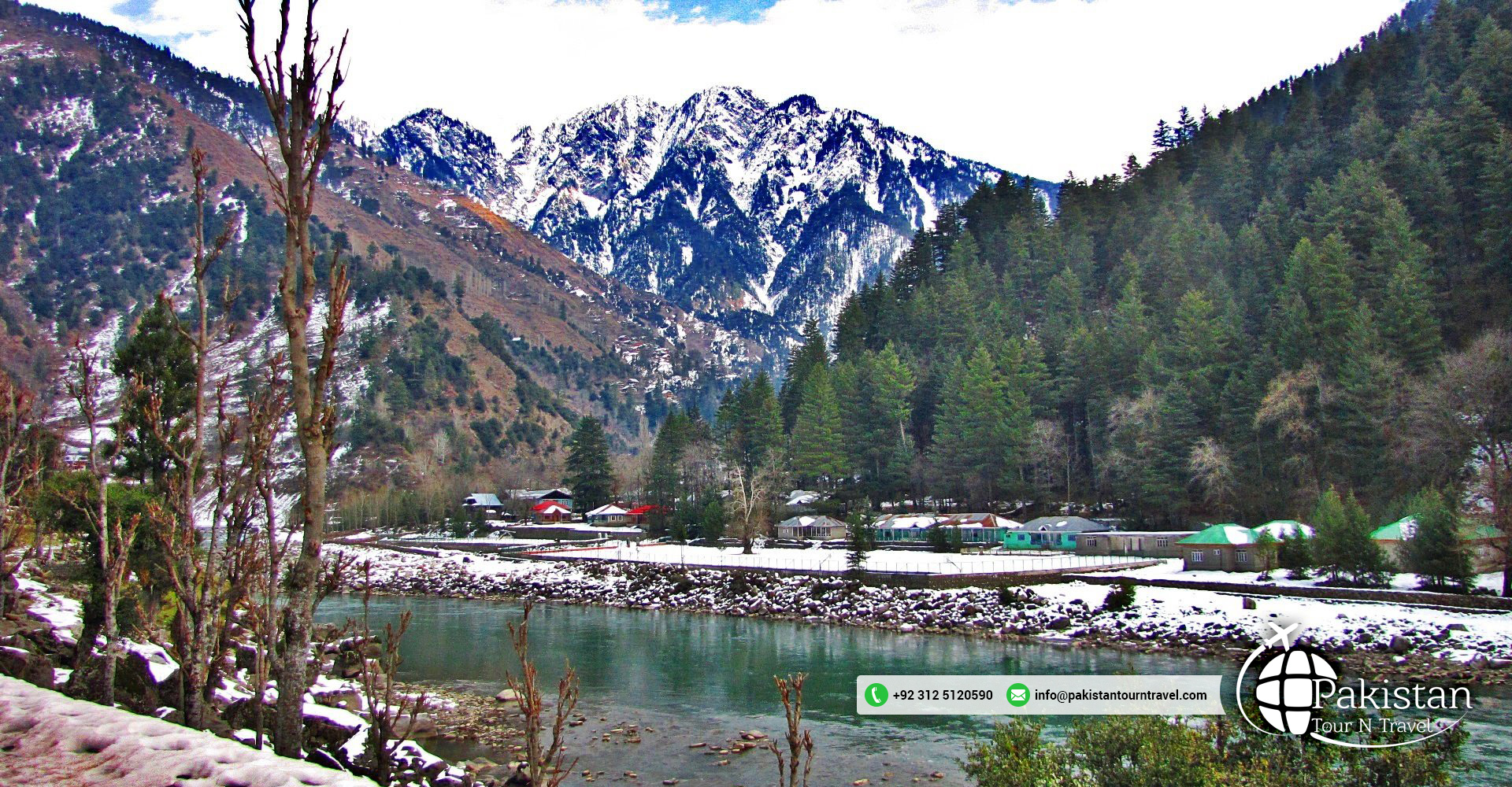 Winter holidays destination Keran