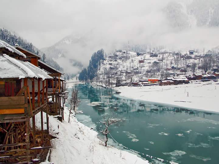 Winter holidays destination Sharda