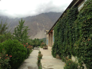 Diran Guest house hunza pavement in Minapin