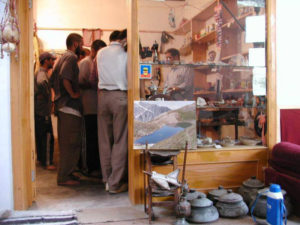 Gift shop in Diran Guest House with cultural hunza stuff