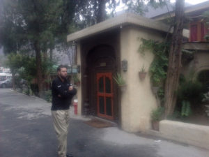 Shangrila Chilas hotel reception view in Chilas region