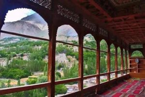Hunza Embassy Balcony side View