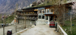 Long shot of Hunza Embassy Hotel
