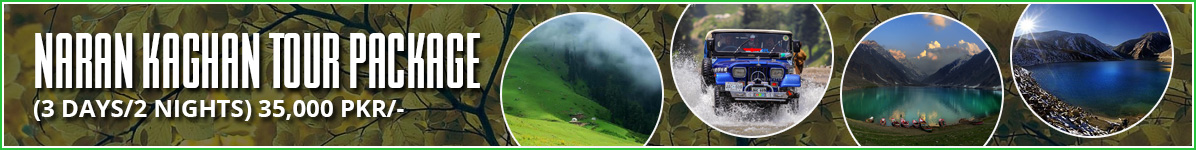 Naran Kaghan Tour Packages and plans