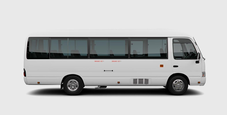 Toyota Coaster Saloon 22 Seater Rental Islamabad Services ...