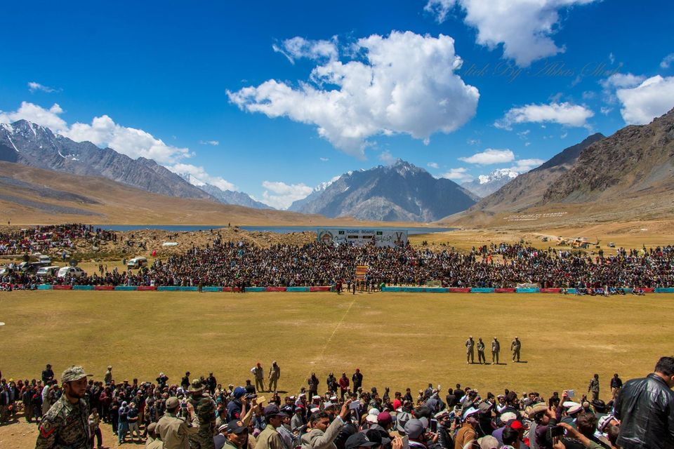 Beautiful Shandur Top