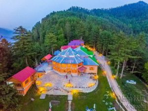 Arcadian Shogran Drone View from top