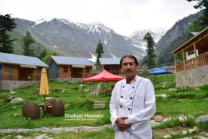 Cheif Chef of Grey wall Cottage tours