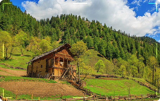 Places in Neelum Valley- Taubut