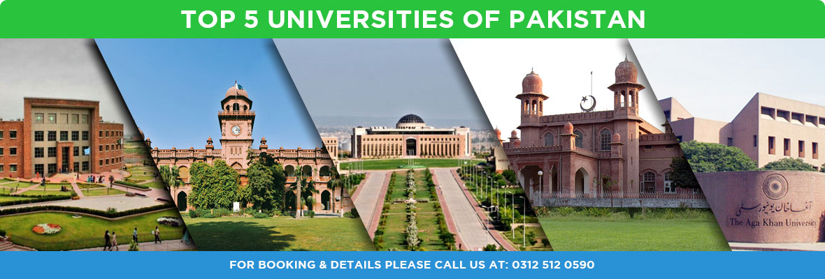 Top 5 Universities of Pakistan REGION