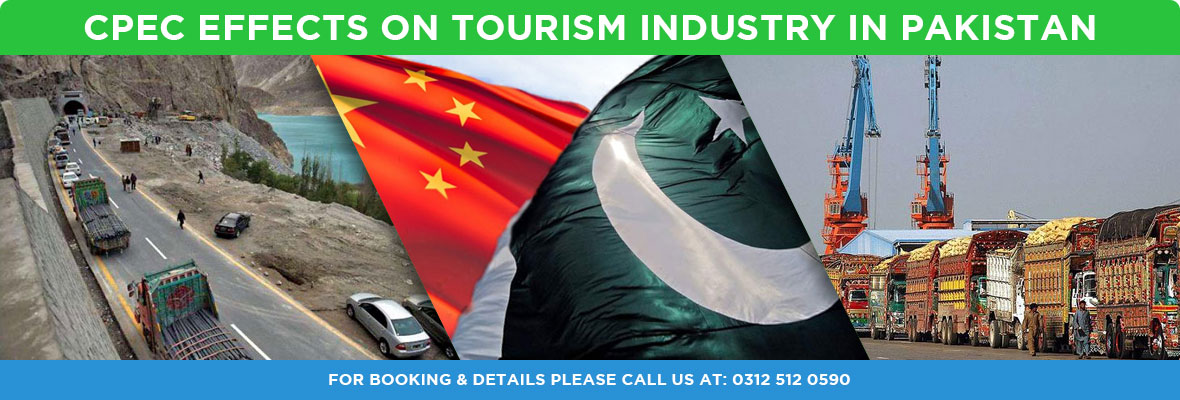 CPEC effects on Tourism industry in Pakistan Region