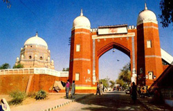Multan-Fort in Multan City