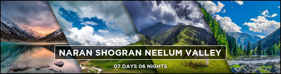 naran kaghan azad kashmir 7days tour Packages
