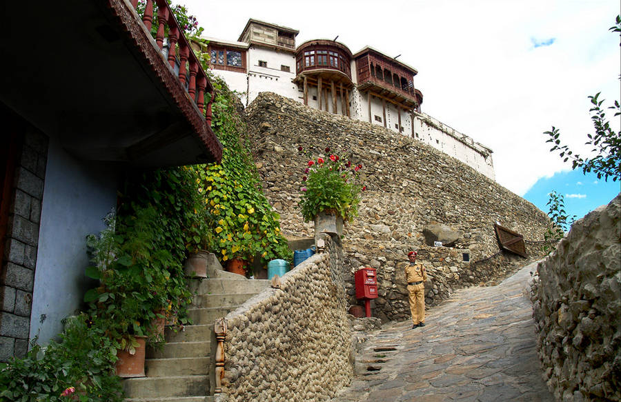Baltit Fort Hunza Valley famous in northern areas