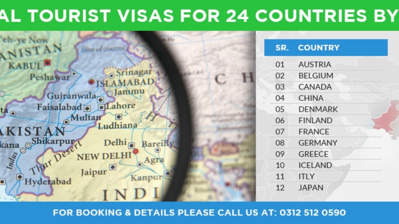 On-arrival Tourist Visas for 24 countries | Pakistan Tour