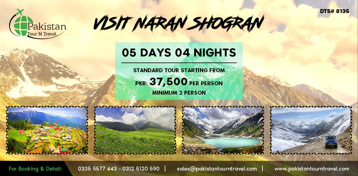 Naran Kaghan Family Summer Tours 2018