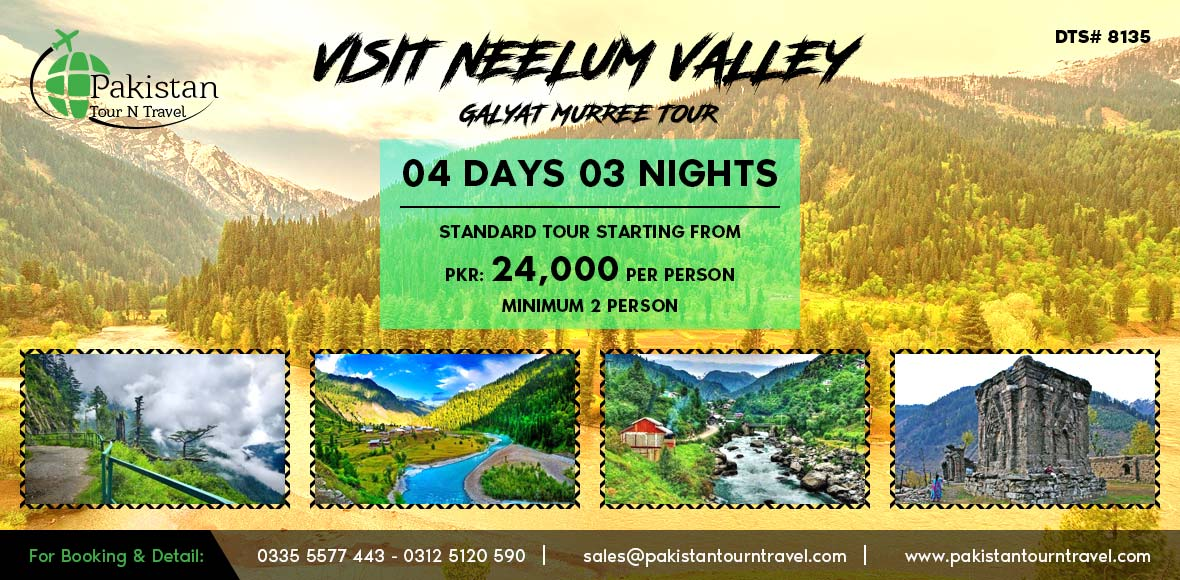 Visit Neelum Valley in Summers 2018 - 2019