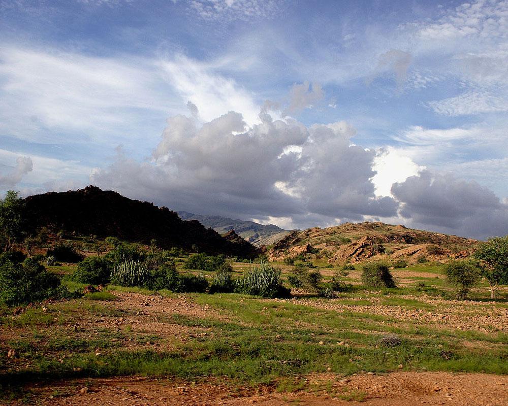 Kirthar-Mountain-Range