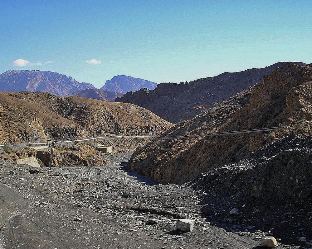 Suleiman-Mountains-Range