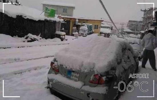 Astore Valley in Winter