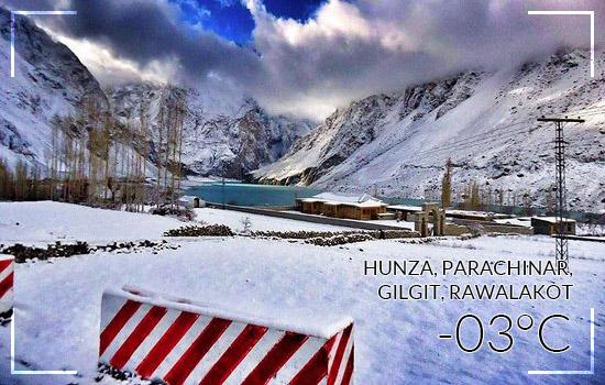 Hunza---Parachinar---Gilgit---Rawalakot