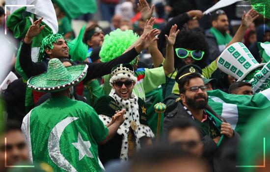 Enthusiasm By Pakistanis