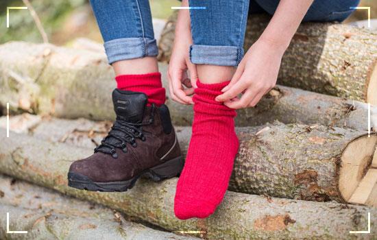 Keep In Mind Your Hiking Walking Socks