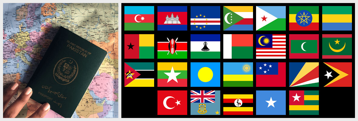 Some Of The Countries Where Pakistanis Can Venture Out To Without A Visa Banner