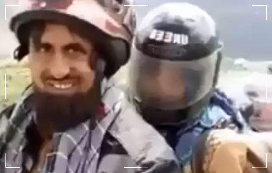 Brother Sister Duo From Karachi Are Traveling Across Pakistan On A Motorcycle Image 1